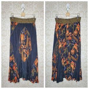 Dorothy Schoelen Platinum Vintage Maxi Skirt 14